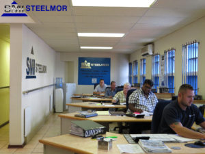 an image of the Steelmor SMI Office and Team
