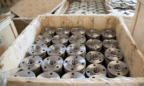 Box of Stainless Steel Flanges