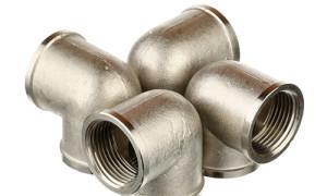 90 degree Stainless Steel Corner Fittings