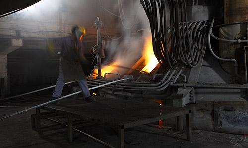 an image of a forging kiln