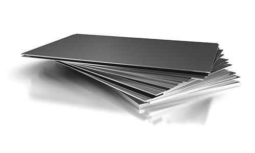 An image of steel plates and sheets at Steelmor