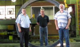 Steelmor SMI Team with recent project